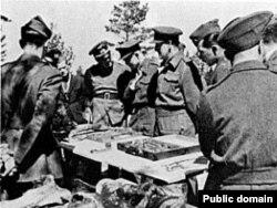 Эксгумацыя ў 1943 годзе