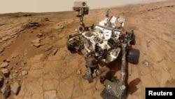 Марс ғаламшарына қонған Curiosity аппараты. 3 ақпан 2013 жыл.