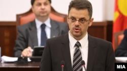 Министерот за финансии, Зоран Ставрески.