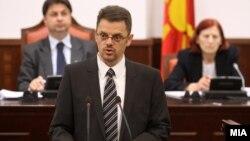 Собраниска комисија за финансирање и буџет. Вицепремиерот и министер за финансии Зоран Ставрески.