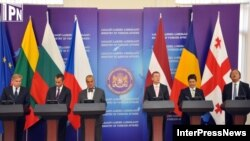 Georgia -- 5 countries Foreign Minister's visit to Georgia. Tbilisi. 17Sep012