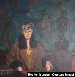 Портрет Елены Рерих