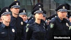 Церемонія складання присяги українськими поліцейськими (архівне фото ©Shutterstock)