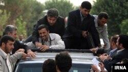 عکس آرشیو سفرهای استانی محمود احمدی نژاد