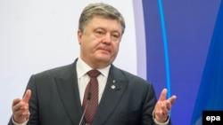 Украина президенті Петр Порошенко.