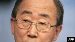 بان گی مون دبیر کل سازمان ملل- عکس از خبرگزاری (AFP).