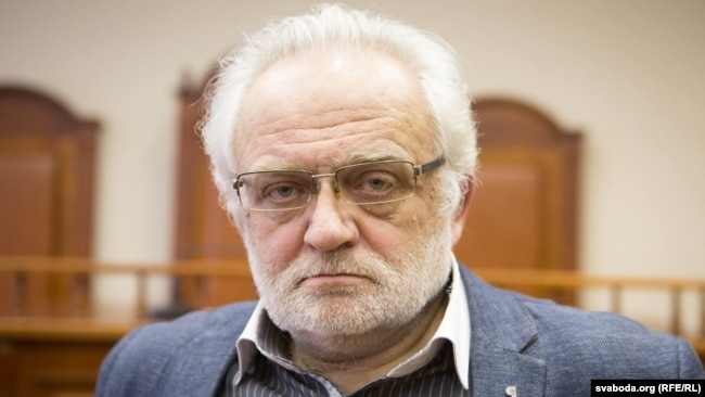 Уладзімер Мацкевіч, здымак 2016 году