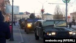 Вайсковы парад у Горадні, 2018