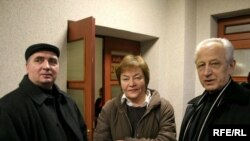 Аляксандар Тамковіч, Жанна Літвіна і Аляксей Кароль у Менскім гарадзкім судзе