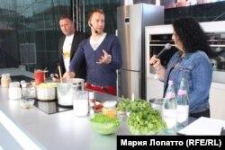 На Будапештском кулинарном фестивале, июнь 2014 года
