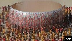 ՀԱՀ - Ֆուտբոլի աշխարհի 2010 թվականի առաջնության բացման արարողությունը Յոհանեսբուրգում, 11-ը հունիսի, 2010թ․