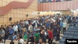 تصویری از تجمعات قبلی در دانشگاه تبریز