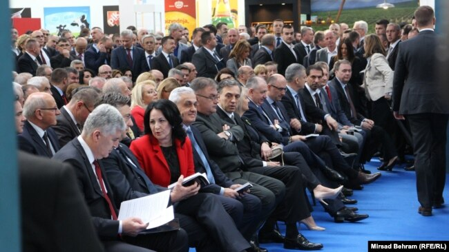 Zvanice na otvaranju 20. međunarodnog sajma privrede – Mostar 2017