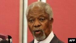 Кофи Аннан - автор плана урегулирования вооруженного противостояния в Сирии.