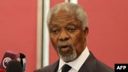 Сурия бўйича БМТ-Араб Лигаси махсус вакили Кофи Аннан.