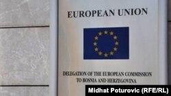 Tabla Delegacije Evropske unije u BiH, Sarajevo