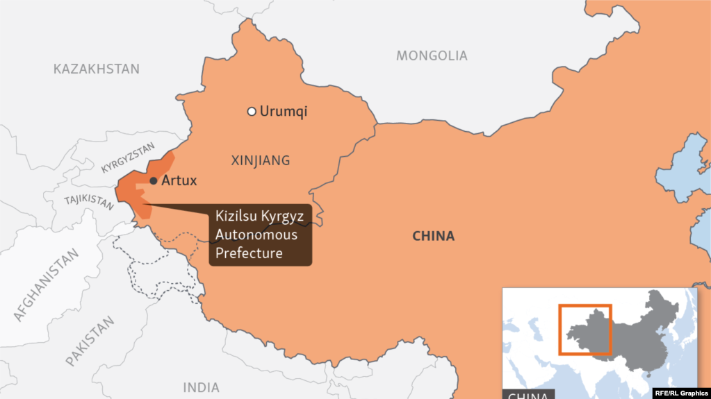 China's Xinjiang province