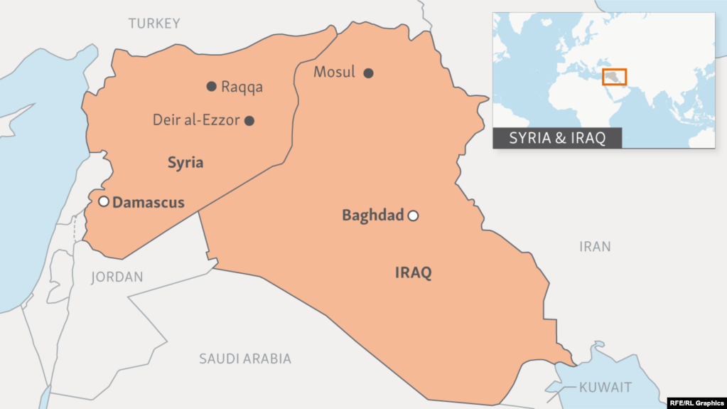 IS Fighting Its Last Battles In Syria And Iraq - Syria world map