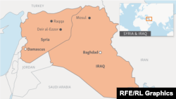 Syria and Iraq Map