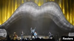 Koncert Rolling Stonesa u londonskoj O2 Areni, 25. novembar 2012.