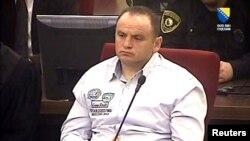 Veselin Vlahović Batko tokom izricanja presude na Sudu BiH, 29. mart 2013.