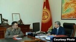 Раимберди Дуйшенбиев и Алмазбек Атамбаев.