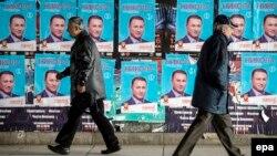 Posteri sa likom Nikole Gruevskog tokom izborne kampanje 2016. (ilustrativna fotografija)