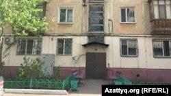 Дом в Нур-Султане, где жила Надежда Белоус.