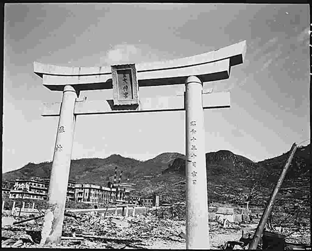 معبدی باقیمانده از بمباران ناگازاکی