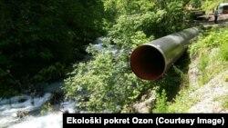 Mini hidroelektrana na Kutskoj rijeci u opštini Andrijevica, ilustrativna fotografija