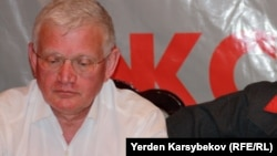 Петр Своик, ЖСДП мүшесі, саясаткер. 20 наурыз 2013 жыл