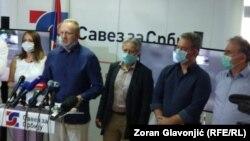 Lideri Saveza za Srbiju, arhivska fotografija