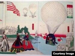 Американцы на японской гравюре