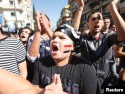 Liban, dječak na protestima zbog nasilja u Siriji, oktobar 2011.