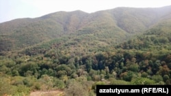 Armenia -- The Shikahogh forest preserve in Syunik province, September 4, 2018.