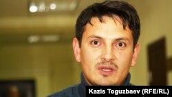 Руслан Бектасов, бывший воспитанник детского дома. Алматы, 15 ноября 2012 года.