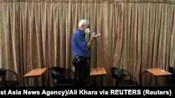 Tehranın mərkəzində məscid