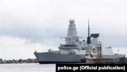 Корабли SNMG2 под командованиемБудевейна Бутса вошли в грузинский порт Поти 1 апреля