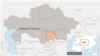 Карта Жамбылской области. Иллюстративное фото.