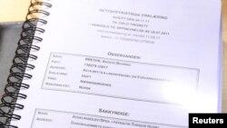 Психіатрична експертиза Брейвіка, оприлюднена 29 листопада 2011 року