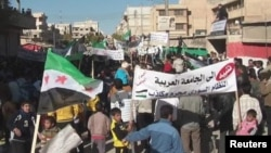 Анти-владини протести во Сирија