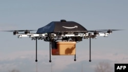 """ABŞ-da da poçtalyon dronlar sınaqdan keçirilir. """"Amazon""""un dronu"""