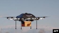 Компания Amazon намерена использовать дроны для доставки посылок