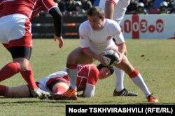 Грузия - Россия - 46:0. Матч Кубка Европы. 2012 год