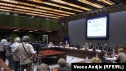 Predstavnici Srbije i EU na konferenciji o korupciji, Beograd, 13. septembar 2011.