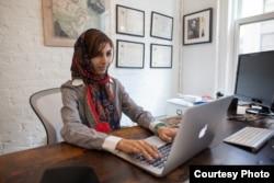 Roya Mahboob in her office in New York