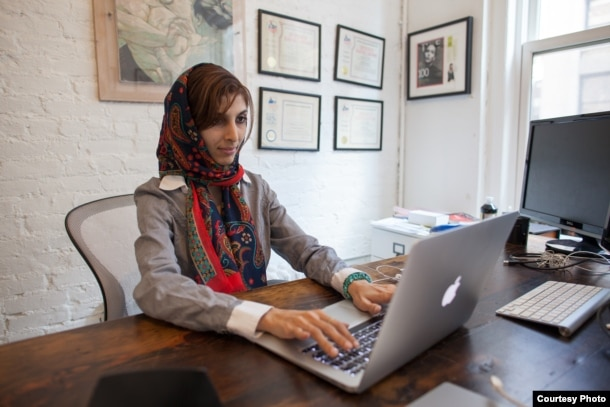 Roya Mahboob in her office in New York