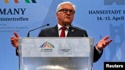 Германскиот министер за надворешни работи Франк Валтер Штајнамаер