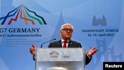 Голова МЗС Німеччини Франк-Вальтер Штайнмаєр