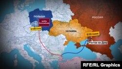 Схеми поставок вугілля з окупованого Донбасу до країн Євросоюзу